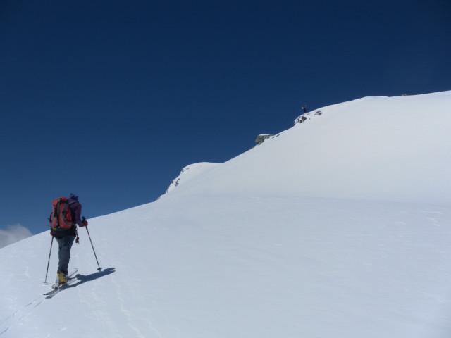 Foto: Wolfgang Lauschensky / Skitour / Ödenwinkelschartenkopf  (3261m) / am Gipfelhang / 25.05.2013 11:27:42