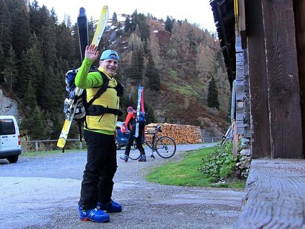 Foto: Andreas Koller / Ski Tour / Jägerspitze aus dem Riedingtal (2508m) / Königalm / 31.05.2013 15:15:38
