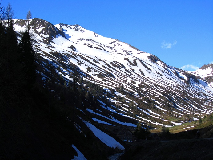 Foto: Andreas Koller / Ski Tour / Jägerspitze aus dem Riedingtal (2508m) / Jägerspitze und NO-Flanke / 31.05.2013 15:14:59