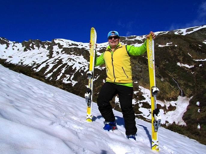 Foto: Andreas Koller / Ski Tour / Jägerspitze aus dem Riedingtal (2508m) / 31.05.2013 15:12:37