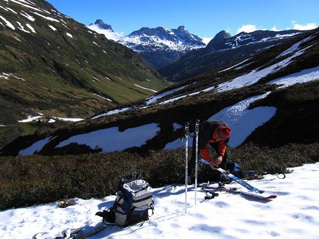 Foto: Andreas Koller / Ski Tour / Jägerspitze aus dem Riedingtal (2508m) / 31.05.2013 15:12:08