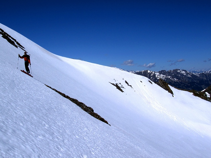 Foto: Andreas Koller / Ski Tour / Jägerspitze aus dem Riedingtal (2508m) / 31.05.2013 15:09:03