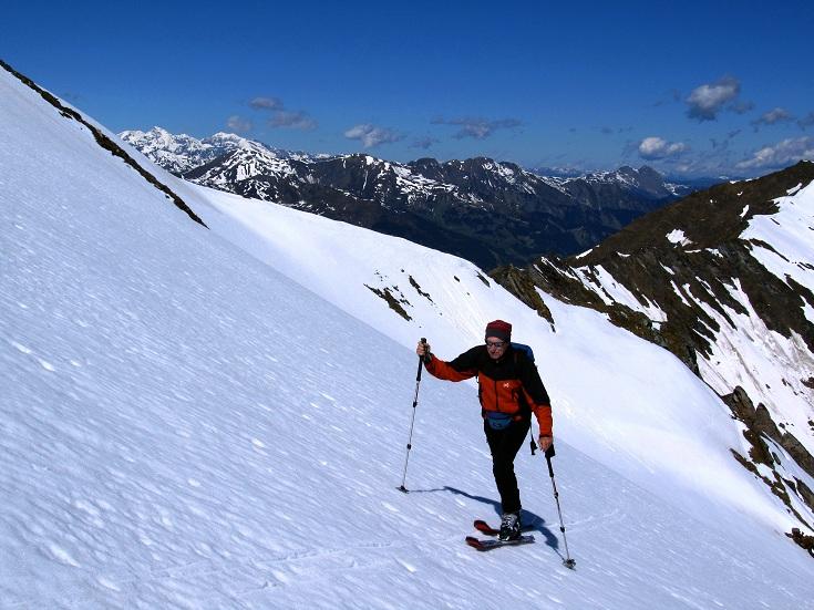 Foto: Andreas Koller / Ski Tour / Jägerspitze aus dem Riedingtal (2508m) / 31.05.2013 15:08:53