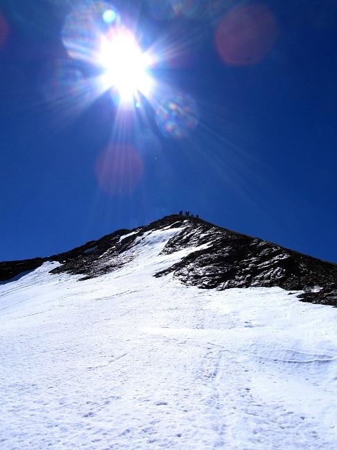 Foto: Andreas Koller / Ski Tour / Jägerspitze aus dem Riedingtal (2508m) / Jägerspitze Gipfel / 31.05.2013 15:07:54