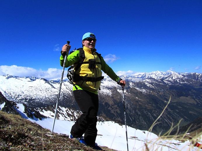 Foto: Andreas Koller / Ski Tour / Jägerspitze aus dem Riedingtal (2508m) / Die letzten Hm vom Skidepot zum Gipfel / 31.05.2013 15:07:18