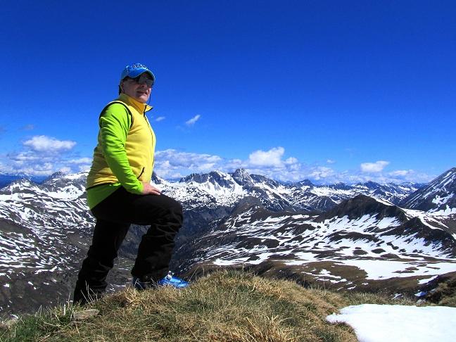 Foto: Andreas Koller / Ski Tour / Jägerspitze aus dem Riedingtal (2508m) / Am Gipfel der Jägerspitze / 31.05.2013 15:06:55