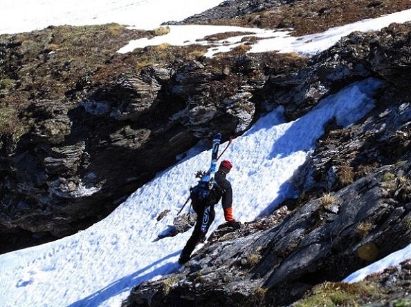 Foto: Andreas Koller / Ski Tour / Jägerspitze aus dem Riedingtal (2508m) / Direkter Anstieg / 31.05.2013 15:06:09