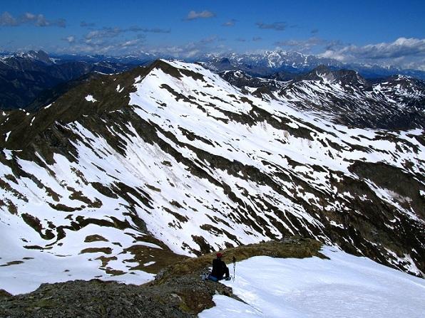 Foto: Andreas Koller / Ski Tour / Jägerspitze aus dem Riedingtal (2508m) / 31.05.2013 15:02:16
