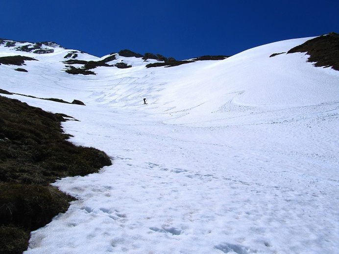 Foto: Andreas Koller / Ski Tour / Jägerspitze aus dem Riedingtal (2508m) / Herrliche Abfahrtshänge / 31.05.2013 15:01:32