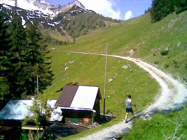 Foto: Wolfgang Lauschensky / Wandertour / Bärenkopf  1991m   über Weißenbachalm / Weißenbachhütte (Handyfotos) / 16.06.2013 09:57:36