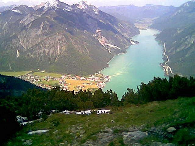 Foto: Wolfgang Lauschensky / Wandertour / Bärenkopf  1991m   über Weißenbachalm / Achensee, Seebergspitze, Seekarspitze / 16.06.2013 09:56:15