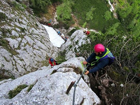 Klettersteig Katrin : Klettern und klettersteig in oberösterreich