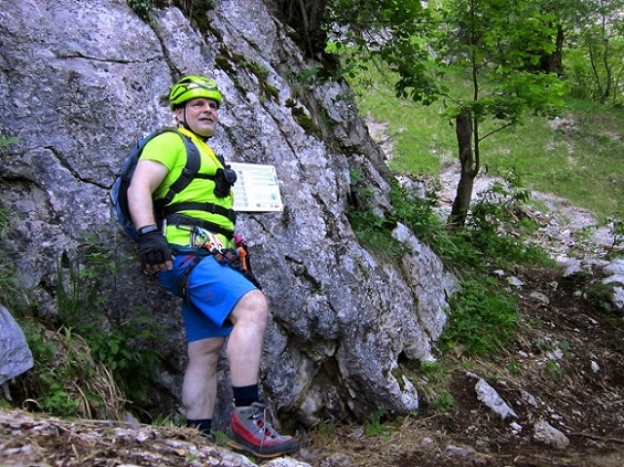 Foto: Andreas Koller / Klettersteigtour / Attersee Klettersteig Mahdlgupf (1261m) / 30.06.2013 16:01:16