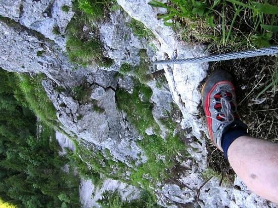 Foto: Andreas Koller / Klettersteigtour / Attersee Klettersteig Mahdlgupf (1261m) / 30.06.2013 16:00:32