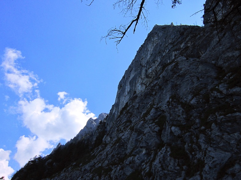 Foto: Andreas Koller / Klettersteigtour / Attersee Klettersteig Mahdlgupf (1261m) / 30.06.2013 16:00:08