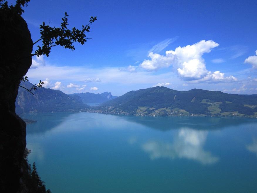 Foto: Andreas Koller / Klettersteigtour / Attersee Klettersteig Mahdlgupf (1261m) / 30.06.2013 15:58:02