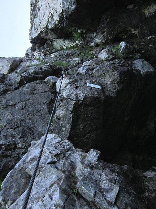 Foto: Andreas Koller / Klettersteigtour / Attersee Klettersteig Mahdlgupf (1261m) / 30.06.2013 15:57:53