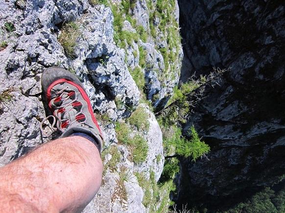 Foto: Andreas Koller / Klettersteigtour / Attersee Klettersteig Mahdlgupf (1261m) / 30.06.2013 15:55:45