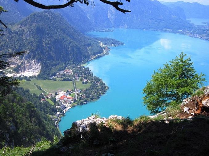 Foto: Andreas Koller / Klettersteigtour / Attersee Klettersteig Mahdlgupf (1261m) / 30.06.2013 15:54:13