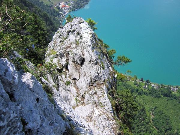 Foto: Andreas Koller / Klettersteigtour / Attersee Klettersteig Mahdlgupf (1261m) / 30.06.2013 15:53:43