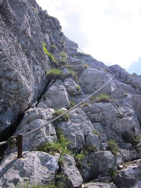 Foto: Andreas Koller / Klettersteigtour / Attersee Klettersteig Mahdlgupf (1261m) / 30.06.2013 15:53:24