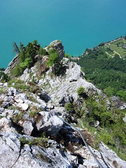 Foto: Andreas Koller / Klettersteigtour / Attersee Klettersteig Mahdlgupf (1261m) / 30.06.2013 15:51:18