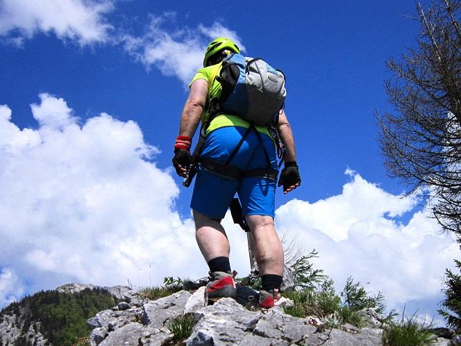Foto: Andreas Koller / Klettersteigtour / Attersee Klettersteig Mahdlgupf (1261m) / 30.06.2013 15:48:26