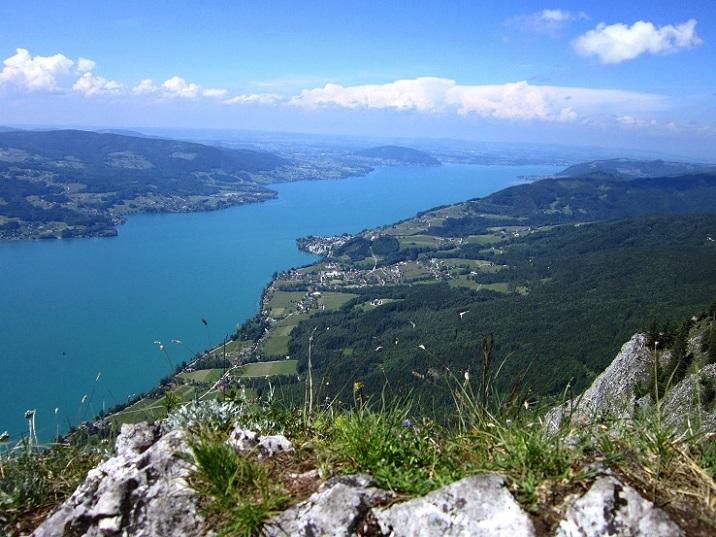 Foto: Andreas Koller / Klettersteigtour / Attersee Klettersteig Mahdlgupf (1261m) / 30.06.2013 15:47:55