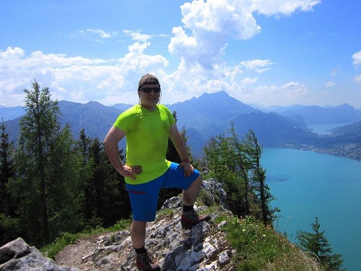 Foto: Andreas Koller / Klettersteigtour / Attersee Klettersteig Mahdlgupf (1261m) / 30.06.2013 15:47:44