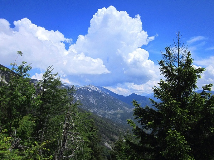 Foto: Andreas Koller / Klettersteigtour / Attersee Klettersteig Mahdlgupf (1261m) / 30.06.2013 15:47:33
