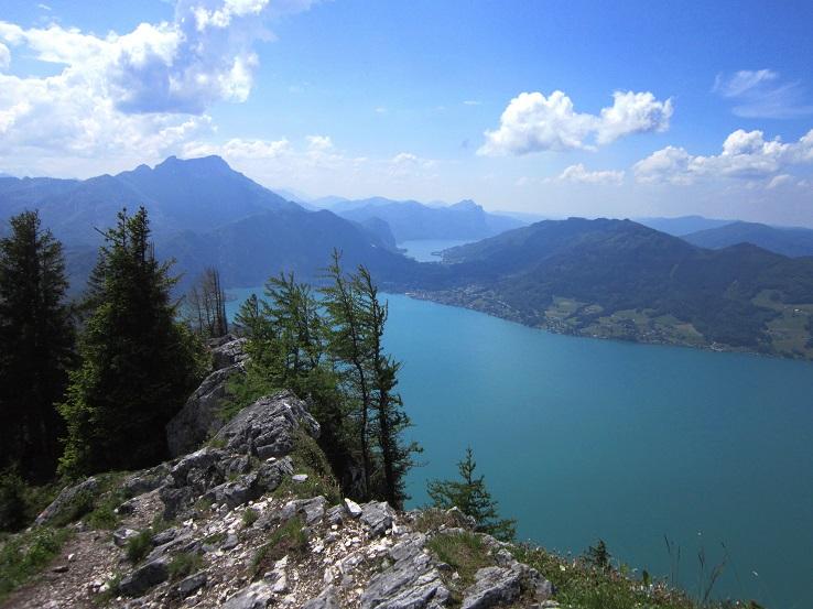 Foto: Andreas Koller / Klettersteigtour / Attersee Klettersteig Mahdlgupf (1261m) / 30.06.2013 15:46:52