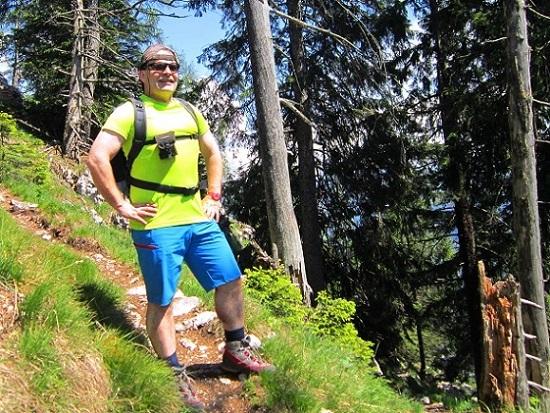Foto: Andreas Koller / Klettersteigtour / Attersee Klettersteig Mahdlgupf (1261m) / 30.06.2013 15:45:50