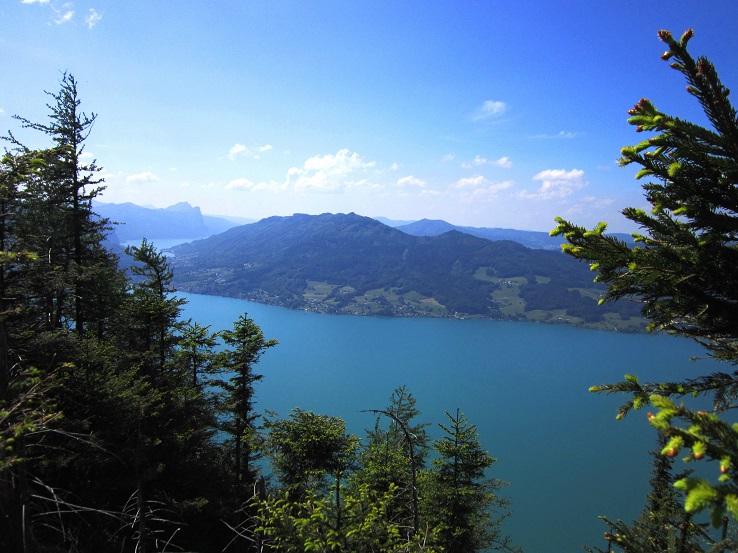 Foto: Andreas Koller / Klettersteigtour / Attersee Klettersteig Mahdlgupf (1261m) / 30.06.2013 15:45:30