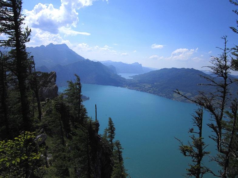 Foto: Andreas Koller / Klettersteigtour / Attersee Klettersteig Mahdlgupf (1261m) / 30.06.2013 15:45:20