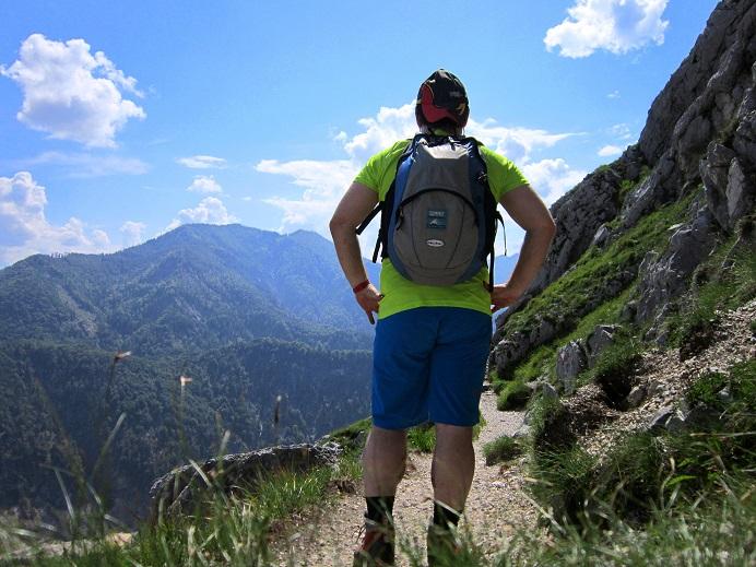 Foto: Andreas Koller / Klettersteigtour / Attersee Klettersteig Mahdlgupf (1261m) / 30.06.2013 15:43:48
