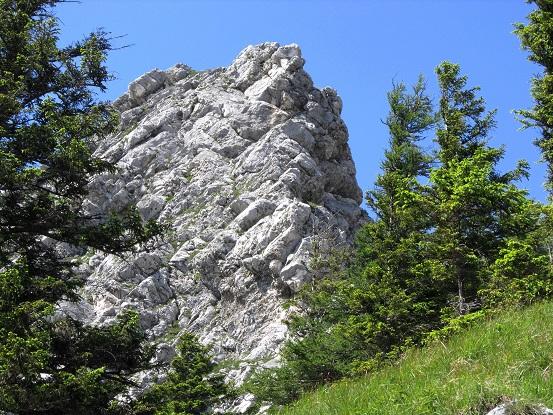 Foto: Andreas Koller / Klettersteigtour / Attersee Klettersteig Mahdlgupf (1261m) / Kleiner Schoberstein (990m) / 30.06.2013 15:43:26
