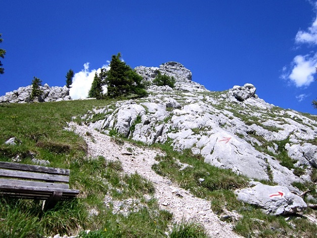 Foto: Andreas Koller / Klettersteigtour / Attersee Klettersteig Mahdlgupf (1261m) / 30.06.2013 15:43:06