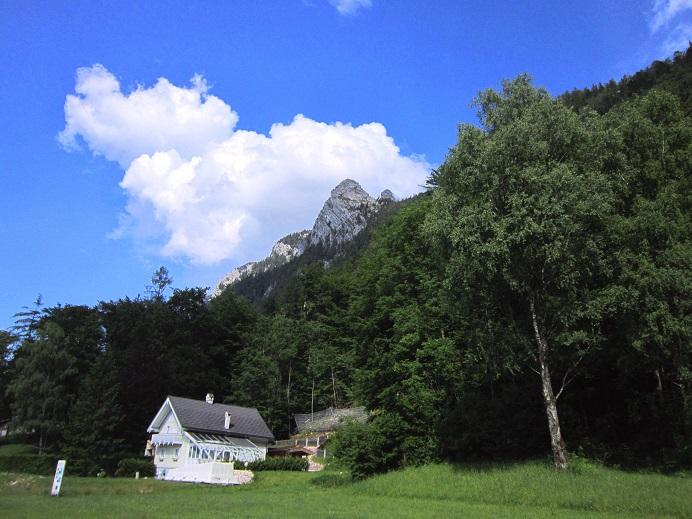 Foto: Andreas Koller / Klettersteigtour / Attersee Klettersteig Mahdlgupf (1261m) / Zurück in Weißenbach / 30.06.2013 15:42:55