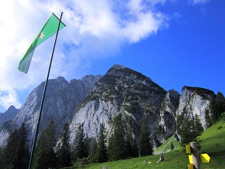 Foto: Andreas Koller / Klettersteigtour / Intersport Klettersteig Donnerkogel (2054m) / 12.07.2013 16:44:22