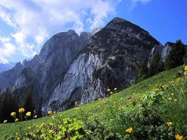Foto: Andreas Koller / Klettersteigtour / Intersport Klettersteig Donnerkogel (2054m) / 12.07.2013 16:43:48