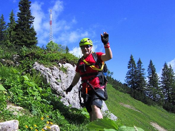 Foto: Andreas Koller / Klettersteigtour / Intersport Klettersteig Donnerkogel (2054m) / 12.07.2013 16:43:03