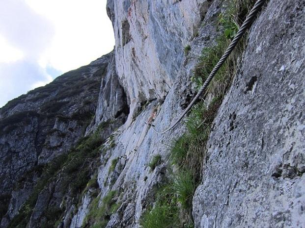 Foto: Andreas Koller / Klettersteigtour / Intersport Klettersteig Donnerkogel (2054m) / 12.07.2013 16:42:30