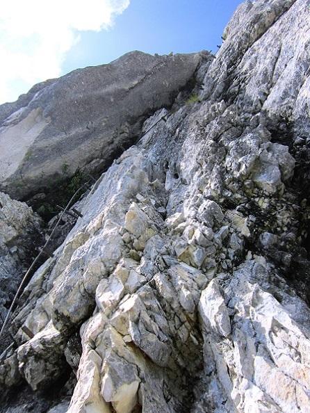 Foto: Andreas Koller / Klettersteigtour / Intersport Klettersteig Donnerkogel (2054m) / Kaiser-Verschneidung / 12.07.2013 16:41:49