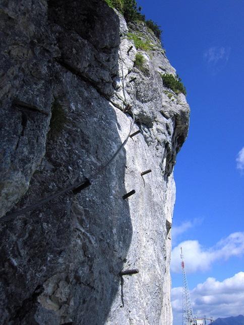 Foto: Andreas Koller / Klettersteigtour / Intersport Klettersteig Donnerkogel (2054m) / 12.07.2013 16:41:18