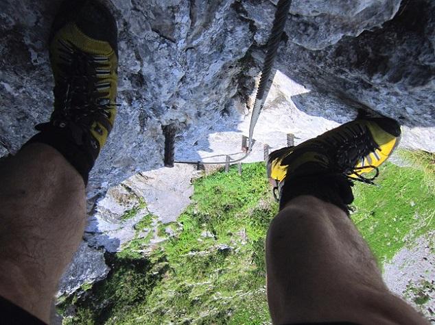 Foto: Andreas Koller / Klettersteigtour / Intersport Klettersteig Donnerkogel (2054m) / 12.07.2013 16:41:07