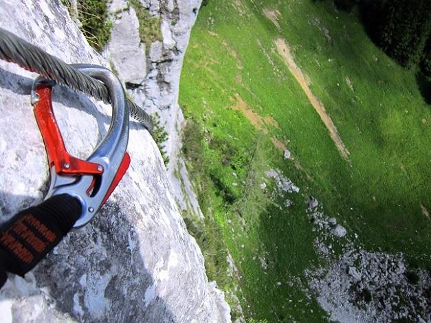 Foto: Andreas Koller / Klettersteigtour / Intersport Klettersteig Donnerkogel (2054m) / 12.07.2013 16:40:53