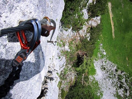 Foto: Andreas Koller / Klettersteigtour / Intersport Klettersteig Donnerkogel (2054m) / 12.07.2013 16:40:34