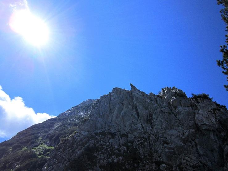 Foto: Andreas Koller / Klettersteigtour / Intersport Klettersteig Donnerkogel (2054m) / 12.07.2013 16:40:00