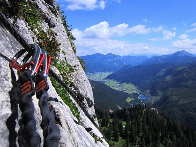 Foto: Andreas Koller / Klettersteigtour / Intersport Klettersteig Donnerkogel (2054m) / 12.07.2013 16:39:40