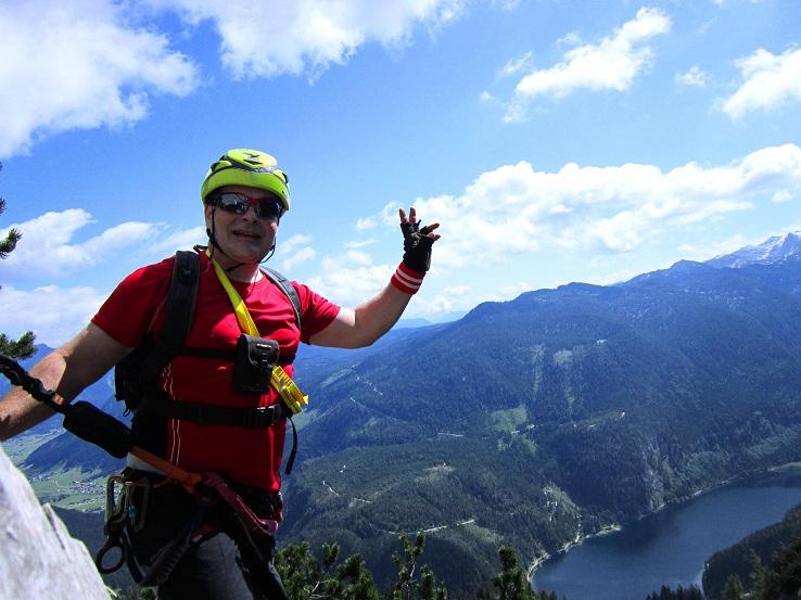 Foto: Andreas Koller / Klettersteigtour / Intersport Klettersteig Donnerkogel (2054m) / 12.07.2013 16:39:29